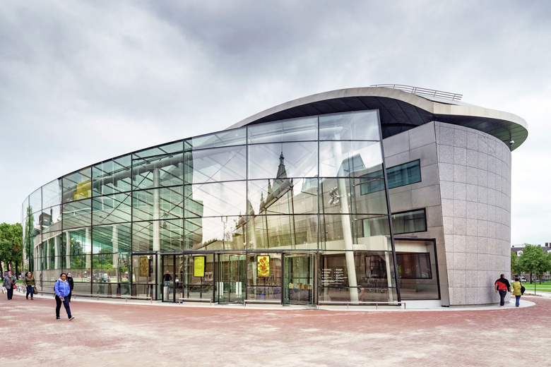 Entrance Building Van Gogh Museum